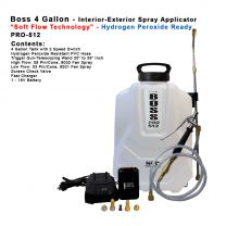 """PRO-512HP  4 Gallon - Hydrogen Peroxide Spray Applicator with """"Soft Flow Technology"""""""