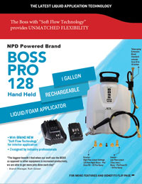Boss Pro 128 Sell Sheet